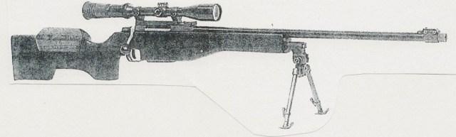 Swedish Lano sniper rifle