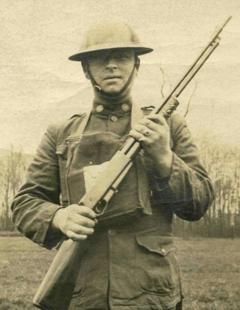 US Doughboy with a Standard Arms Model G