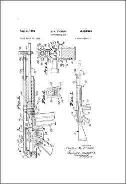 US Patent 3,198,076 (Stoner LMG)