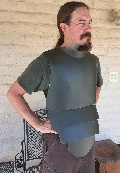 German WWI reproduction trench armor from IMA