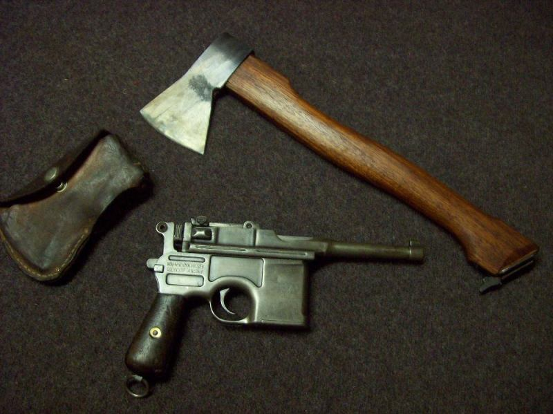 Hatchet-Stock for a C96 Mauser – Forgotten Weapons