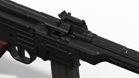 Rendering of an HMG Sturmgewehr