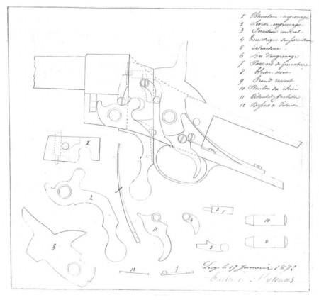 Greek Mylonas rifle sketch