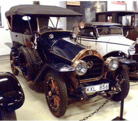 Nagant Phaeton automobile