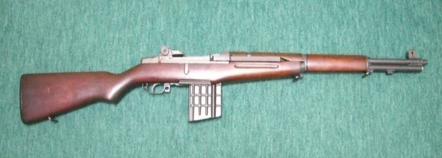 Garand converted to use AR10 magazines by Artillerie Inrichtingen