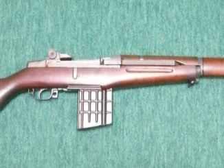 Garand converted to use AR10 magazines by Artillerie Inrichtingen