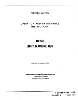 XM248 Technical Manual (English, 1979)