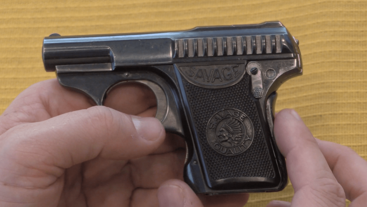 Savage  25ACP Automatic Pistol – Forgotten Weapons