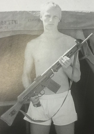 Wolfgang Riess, one of the Commandos who used these CETMEs, later to work as an H&K weapons technician