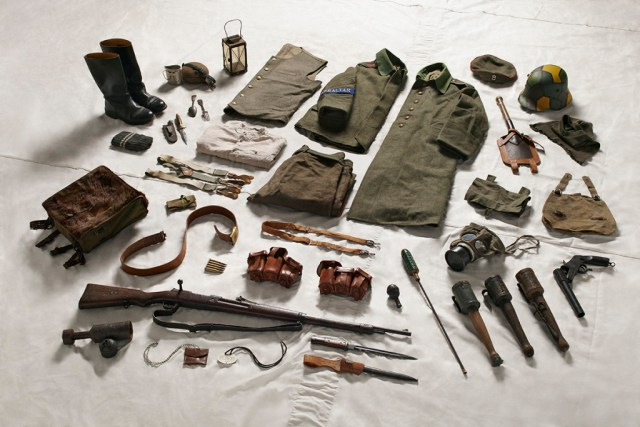 German Private's gear, 1916