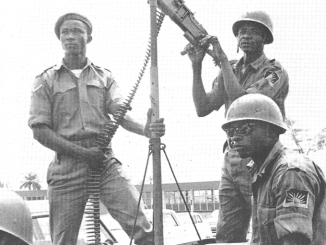 Biafran troops, circa 1968
