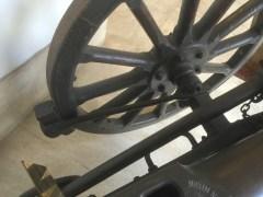 Inside of wheel hub