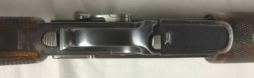 Underside of trigger guard