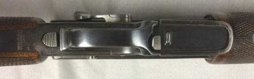 Underside of trigger guard