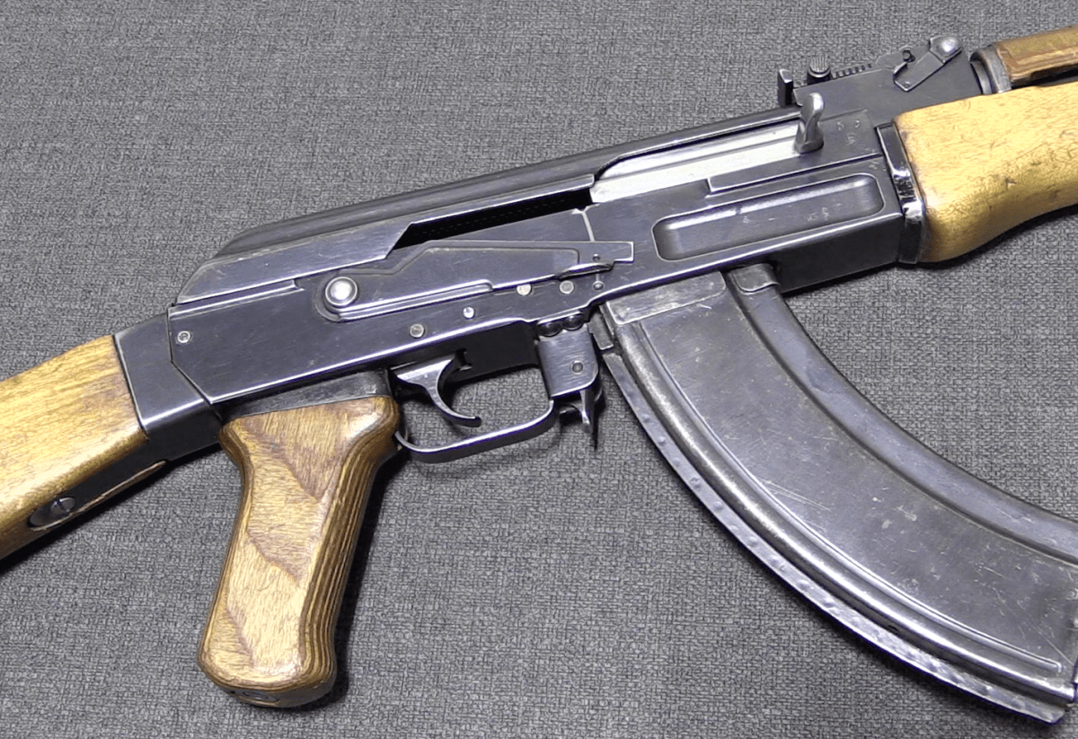 Russian AK-49 – The Type 2 Milled Receiver AK – Forgotten Weapons
