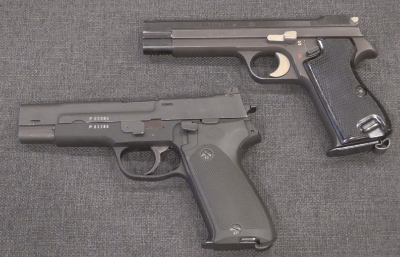Development of the SIG P220, aka the Swiss P75 Army Pistol