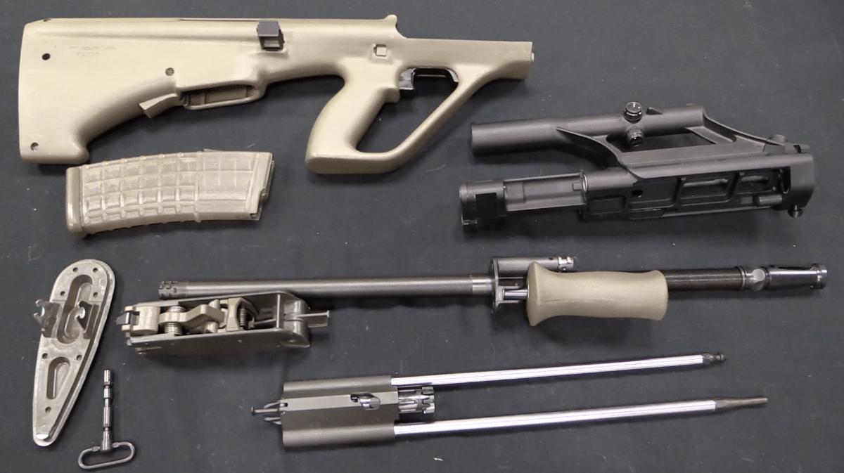 Steyr StG 77, aka the AUG – Forgotten Weapons