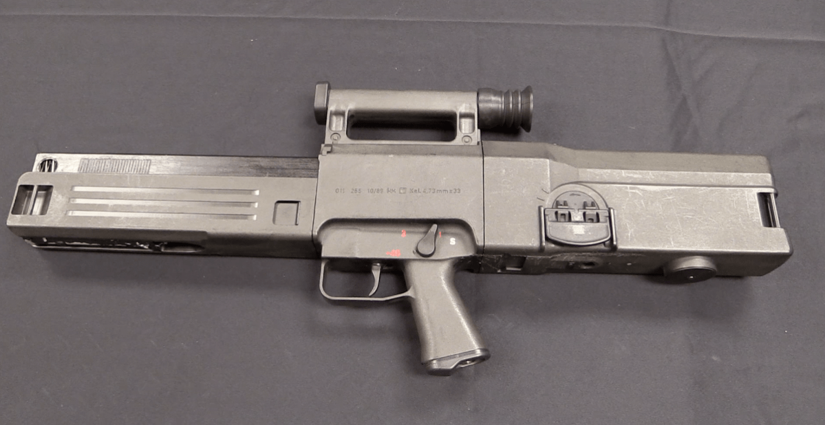 Kraut Space Magic: the H&K G11 – Forgotten Weapons
