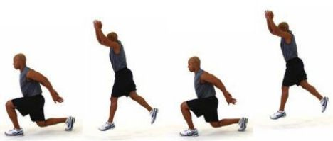 Power Lunges