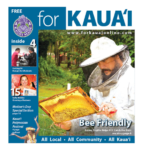 Cover of May 2012 For Kaua`i