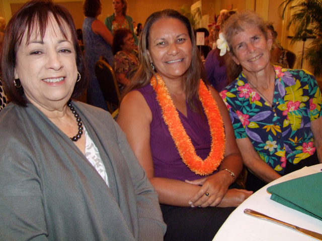 L-R: Carol Furtado, Anna Peters