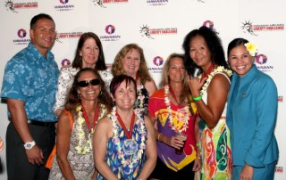 Pu`uwai Women Masters at 2012 Hawaiian Airlines Liberty Challenge post race Lu'au and Awards Ceremony