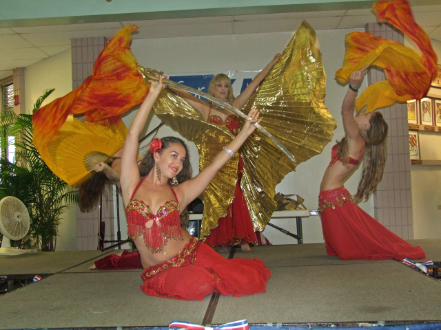 Garden Nile Belly Dancers