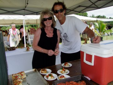 Carla Wilkerson and Eric Fakhouri