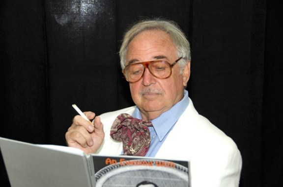 Arnold Meister as playwright Tennessee Williams