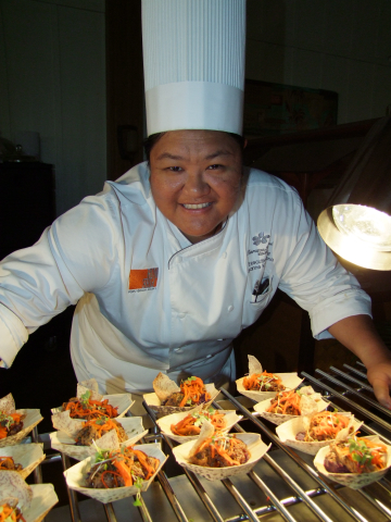 Executive Chef Leanne Kamekona