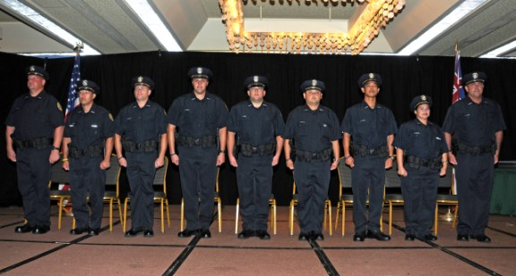 82nd KPD Police Recruit graduating class