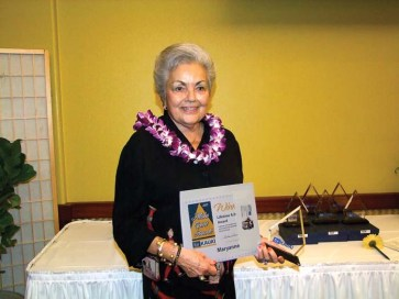Mayor Maryanne Kusaka won the Lifetime Achievement Award.