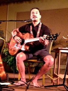 Multi-award winner singer, composer Keali'i Reichel, performed January 25 to a gracious crowd.