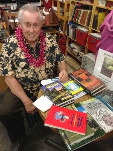 Author Richard Peck, of Kapa`a.