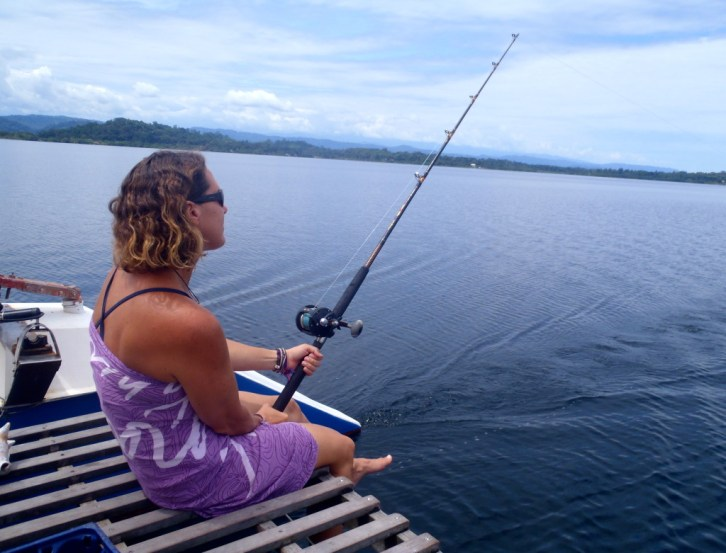 Fishing in Bocas del Toro