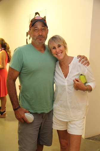 Steve Reiss and Cherie Hakman, from North Shore.