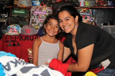 Sheena Tuazon, of DeepKauai, and her daughter, Lauhela Tuazon.