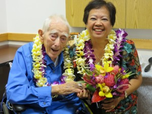 Percy Bailey and his wife of 29 years, Teresa, renewed their marriage vows on July 30, 2014 at his request, in a blend of Buddhist and Hawaiian customs, in the Garden Island Rehabilitation wing at Wilcox Memorial Hospital, where Percy lived for the last several months of his life.