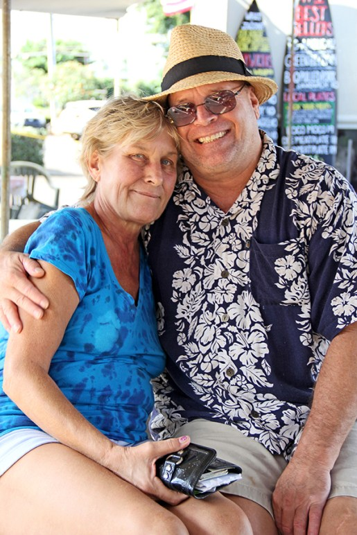 Debbie Altman and Rick Polk, of Lihu'e.