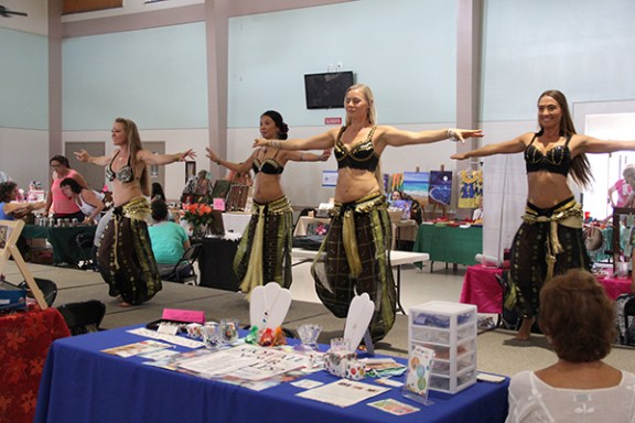 Sudeeka belly dancers.