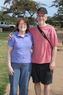 Lila and Jim Moravec, of Wisconsin.