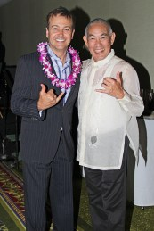 Scott McFarland, left, and Dickie Chang