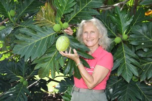 Diane Ragone, director of the Breadfruit Institute