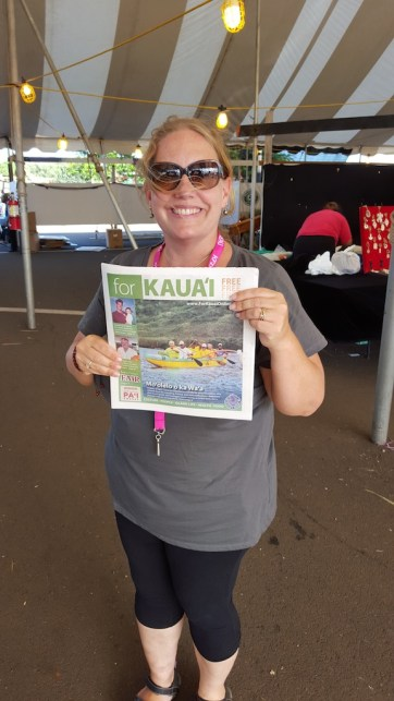 Melissa McFerrin, of the Kaua'i Farm Bureau.