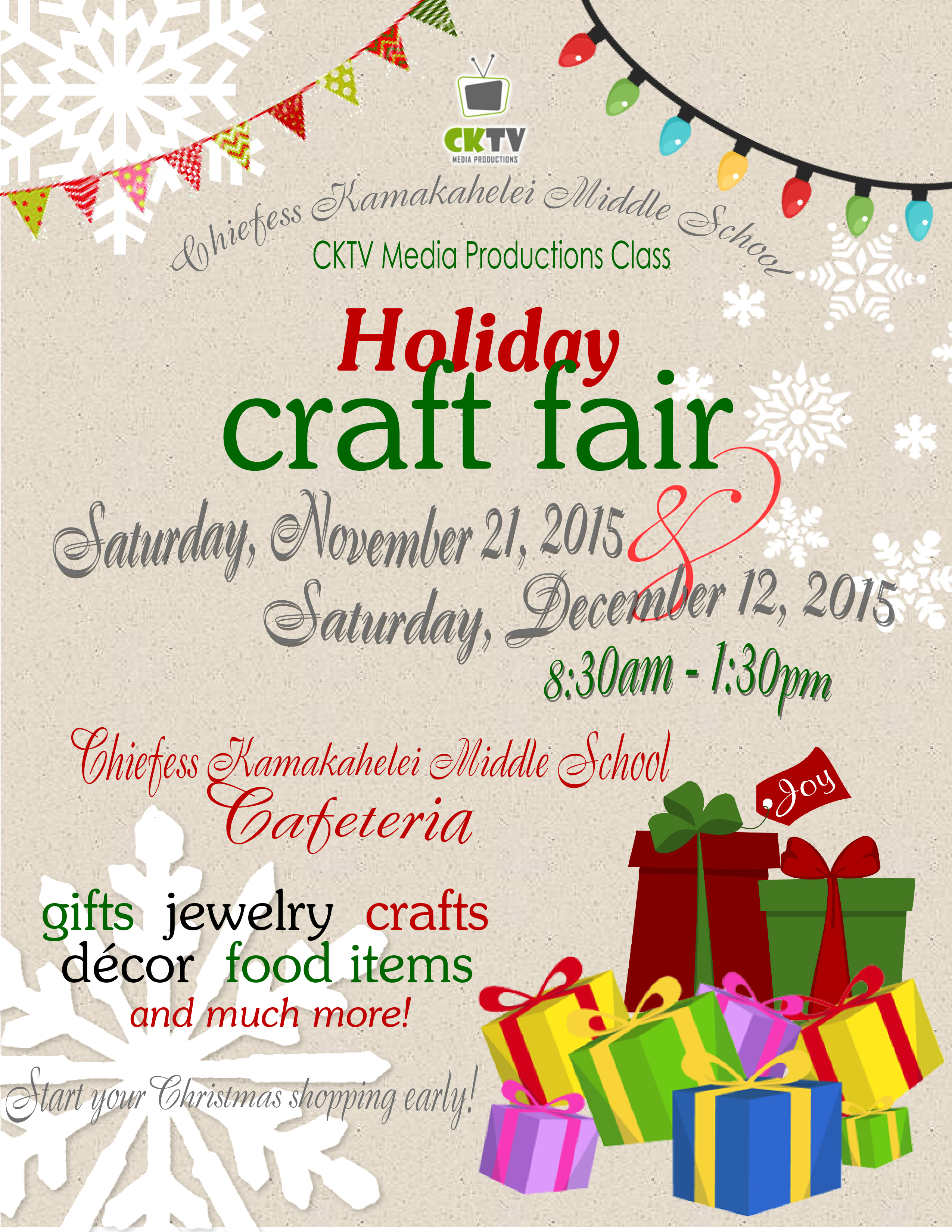 How to Shop at Holiday Craft Fairs