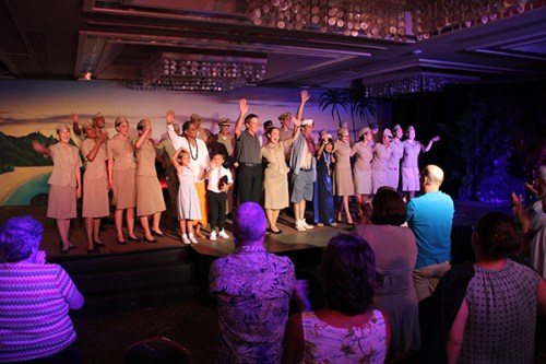 South Pacific Musical cast