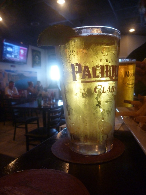 Nothing like an ice-cold beer while watching an NFL game.