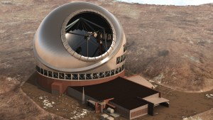 Artist's rendition of the top of the TMT Complex. Courtesy of tmt.org