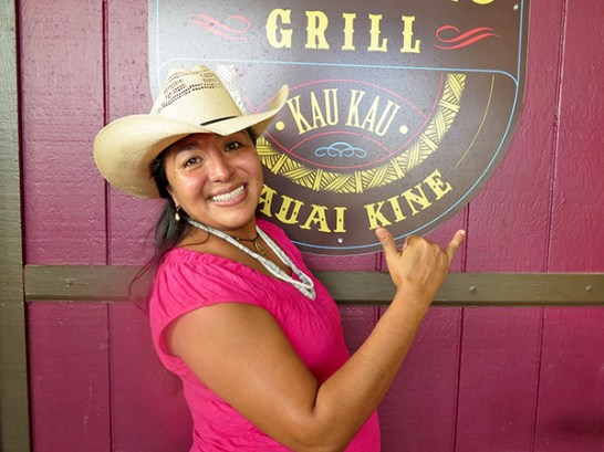 Like a sculptor looking at marble, Tiki will look at a cut of beef and make culinary art. She says she makes anything from ribs to traditional beef stew, 'ulu fries to fish tacos. Call ahead to find out about specials.