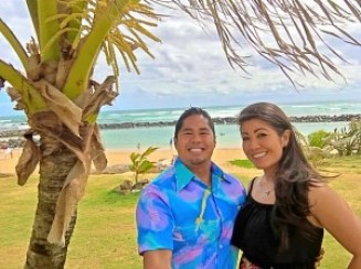 """Jacob """"Smilie"""" Punzal and Candee Riopta of Au'rai Fitness and the Friends of Kamalani and Lydgate Park have teamed up to produce a fun-filled Earth Day in Lydgate Park for the whole family on Saturday, April 16, starting at 7:30 a.m."""